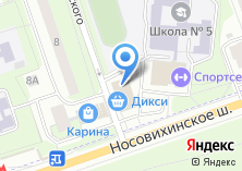 Компания «Мнямoff» на карте