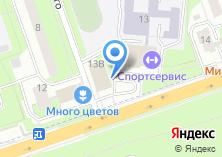Компания «Шторы и фурнитура» на карте