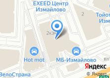 Компания «Мерседес-бенц» на карте