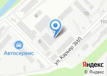 Компания «СитиЛифт» на карте