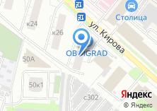 Компания «Союз промышленников и предпринимателей Люберецкого района» на карте