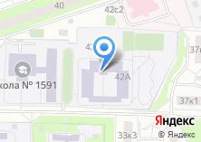 Компания «Средняя общеобразовательная школа №1025» на карте