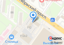 Компания «Альянс Декор» на карте