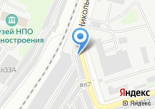 Компания «Гаражно-строительный кооператив №4» на карте
