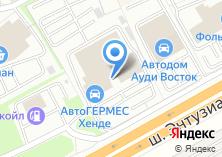 Компания «АГ-Моторс Балашиха» на карте