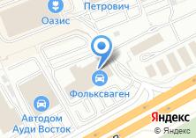 Компания «Петрович» на карте