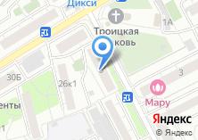 Компания «ВидеоСекьюр» на карте