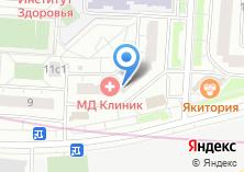 Компания «МД Клиник» на карте