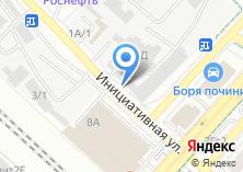 Компания «Магазин автозапчастей на Инициативной» на карте