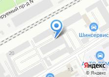 Компания «Инвесттехноком» на карте