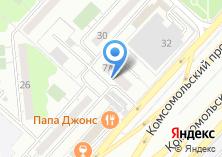 Компания «Дворец детского и юношеского творчества» на карте