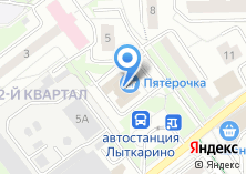 Компания «Фокус» на карте