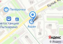 Компания «Строящееся административное здание по ул. Спортивная (г. Лыткарино)» на карте