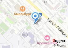 Компания «Белоруссия Россия» на карте