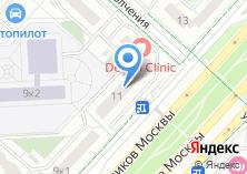 Компания «Потолок 555» на карте