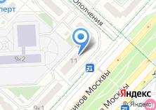 Компания «Минимаркет на проспекте Защитников Москвы» на карте