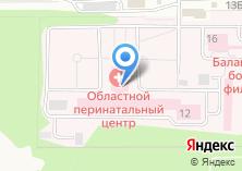 Компания «Московский областной перинатальный центр» на карте