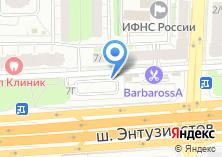 Компания «Меркурий ПЛЮС» на карте
