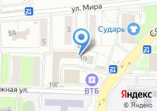 Компания «OKNASTAV» на карте