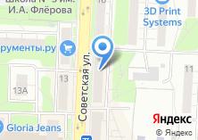Компания «Хаси» на карте