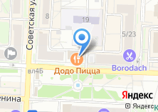 Компания «Стоматологическая клиника Дентвилль» на карте