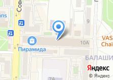 Компания «ПИРАМИДА» на карте