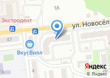 Компания «Строящийся жилой дом по ул. Новосёлки (г. Ивантеевка)» на карте