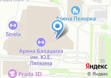 Компания «Огни Балашихи» на карте
