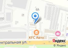 Компания «МойБери» на карте