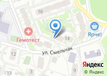 Компания «Строящийся жилой дом по ул. Маяковского (г. Балашиха)» на карте