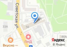 Компания «Айсу» на карте