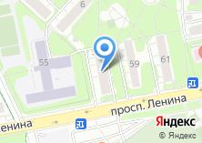 Компания «Магазин канцелярских товаров на проспекте Ленина» на карте