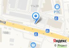 Компания «Автолюб» на карте
