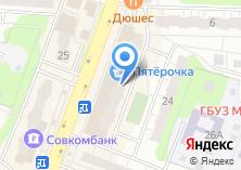 Компания «ТистройПром» на карте