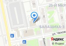 Компания «БалАудит» на карте