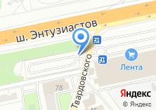 Компания «Автостоянка на Энтузиастов шоссе» на карте