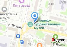 Компания «Единый расчетный кассовый центр» на карте