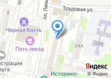 Компания «Эвакуатор» на карте