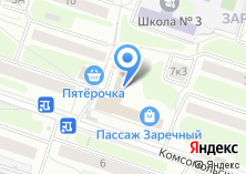 Компания «Окна-Балконы.ру» на карте