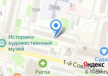 Компания «ПАНДУС» на карте