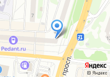 Компания «Пластика Окон» на карте