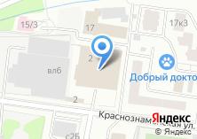 Компания «ВиВат Кухни» на карте