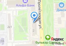 Компания «Офис на Пролетарской» на карте