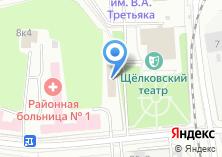 Компания «Щелковский Противотуберкулезный Диспансер» на карте