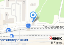 Компания «Железнодорожная железнодорожная станция» на карте