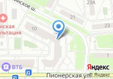 Компания «Восток-Сервис» на карте
