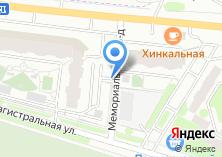 Компания «Автостоянка на ул. Лацкова» на карте