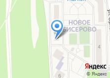 Компания «Строящееся административное здание по ул. Новое Бисерово микрорайон (Щемилово)» на карте