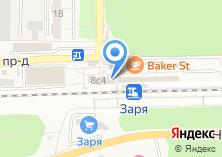 Компания «Гера» на карте