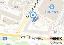 Компания «Гагаринский» на карте
